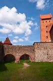 Medieval Trakai Castle near Vilnius, Lithuania. Stock Photo