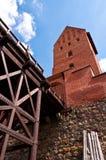 Medieval Trakai Castle near Vilnius, Lithuania. Stock Photos