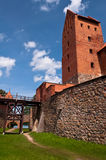 Medieval Trakai Castle near Vilnius, Lithuania. Stock Image