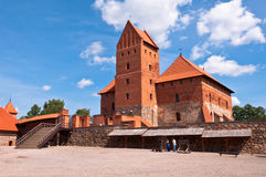 Medieval Trakai Castle near Vilnius, Lithuania. Royalty Free Stock Images