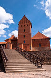 Medieval Trakai Castle near Vilnius, Lithuania. Royalty Free Stock Photography