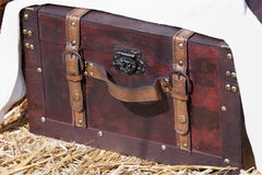 Medieval treasure chest Stock Photo