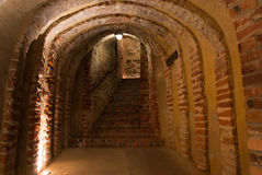 Medieval tunnel royalty free stock images