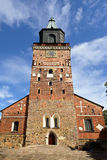 Medieval Turku cathedral Royalty Free Stock Image