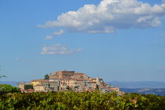 Medieval Tuscany Royalty Free Stock Images