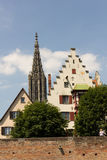 Medieval Ulm. The medieval city of Ulm, Southern Germany, in summer royalty free stock photo