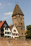 Medieval Ulm. The medieval city of Ulm, Southern Germany, in summer royalty free stock image