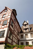 Medieval Ulm. The medieval city of Ulm, Southern Germany, in summer stock photo