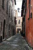 Medieval urbania Royalty Free Stock Images