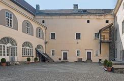 Medieval Uzhhorod Castle, Ungvar, in Ukraine Stock Photos