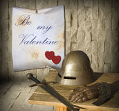 Medieval Valentines Day Stock Photography