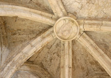 Medieval vault Royalty Free Stock Photos