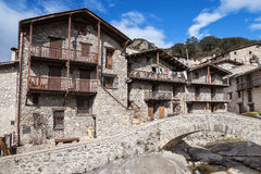Medieval village of Beget Royalty Free Stock Photo