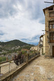 Medieval village of catalonia, spain Royalty Free Stock Photo