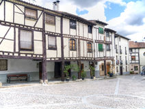 Medieval village of covarrubias Royalty Free Stock Images