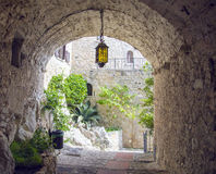 The medieval Village of Eze Royalty Free Stock Photos