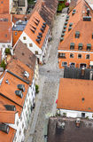 Medieval village of Freising in Bavaria Royalty Free Stock Photos