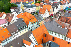 Medieval village of Freising in Bavaria Royalty Free Stock Photography