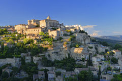 Medieval village of Gordes in Provence. The medieval village of Gordes in Provence Royalty Free Stock Image