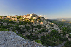 Medieval village of Gordes in Provence Royalty Free Stock Photo