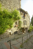 Medieval village of Haut de Cagnes, France Royalty Free Stock Images