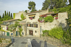 Medieval village of Haut de Cagnes, France Stock Photography