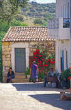 Medieval village Idanha-a-Velha, Portugal. Royalty Free Stock Photos