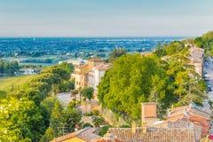 Medieval village of Longiano Royalty Free Stock Photos