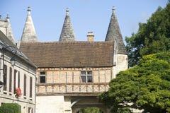 Medieval village of Longpont (Picardie) Royalty Free Stock Image