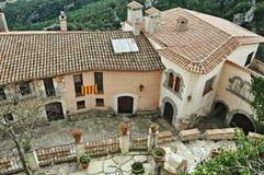 Medieval village of Miramar-Tarragona Royalty Free Stock Images