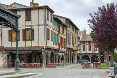 Medieval village Mirepoix Stock Images