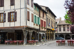 Medieval village Mirepoix Royalty Free Stock Photography