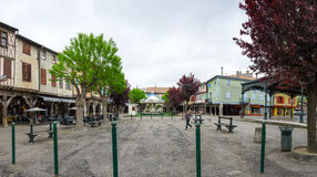 Medieval village Mirepoix Stock Photography