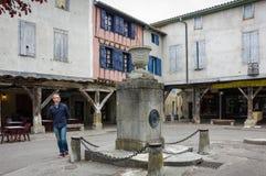 Medieval village Mirepoix Royalty Free Stock Photos