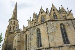 Medieval village Mirepoix Royalty Free Stock Image