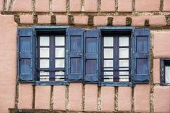 Medieval village Mirepoix Stock Image
