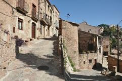 Medieval village of Mura Royalty Free Stock Image
