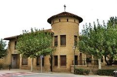 Medieval church of Olite, Navarre, Spain. Stock Photos