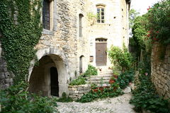 Medieval village in Provence Stock Photo