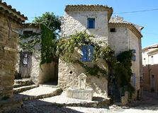 Medieval village in Provence Stock Photo