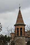 Medieval village: SANT'AGATA FELTRIA. Detail of architecture in Sant'Agata Feltria Royalty Free Stock Images