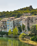 Medieval Village of Sauve France Royalty Free Stock Photos
