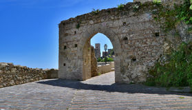 Medieval village of Savoca Royalty Free Stock Photo