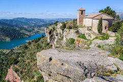 The medieval village of Siurana, Catalonia, Spain Royalty Free Stock Photography