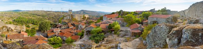Medieval Village of Sortelha Stock Photos