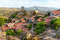 Medieval Village of Sortelha. View to Medieval Village of Sortelha, Portugal stock photos