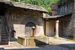 Medieval village in Turin, Italy Stock Photos