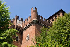 Medieval village in Turin, Italy Royalty Free Stock Images