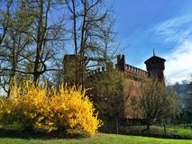 Medieval village in Turin Royalty Free Stock Photography