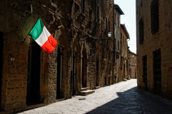 Medieval village in Tuscany Royalty Free Stock Photo